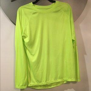 NEW NEVER WORN excersize shirt